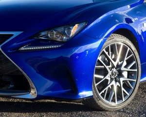 2015 Lexus RC350 F Sport Headlamp and Wheel