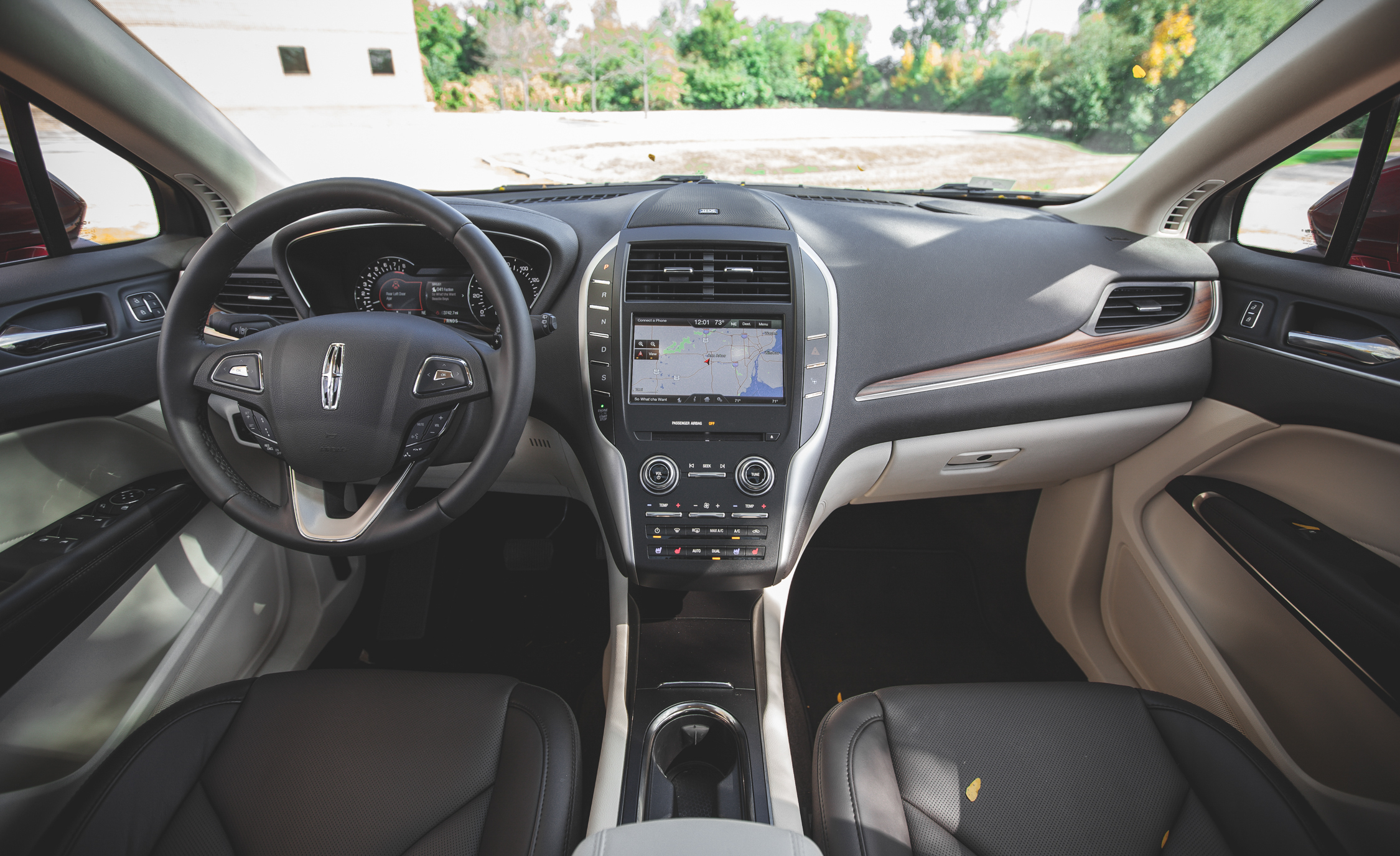 2015 Lincoln MKC 2.3 EcoBoost AWD Dashboard Interior