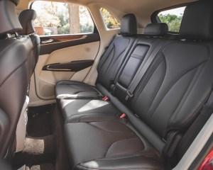 2015 Lincoln MKC 2.3 EcoBoost AWD Rear Seats Interior