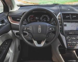 2015 Lincoln MKC 2.3 EcoBoost AWD Steering Wheel