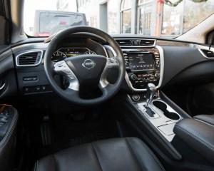 2015 Nissan Murano Platinum AWD Interior Front