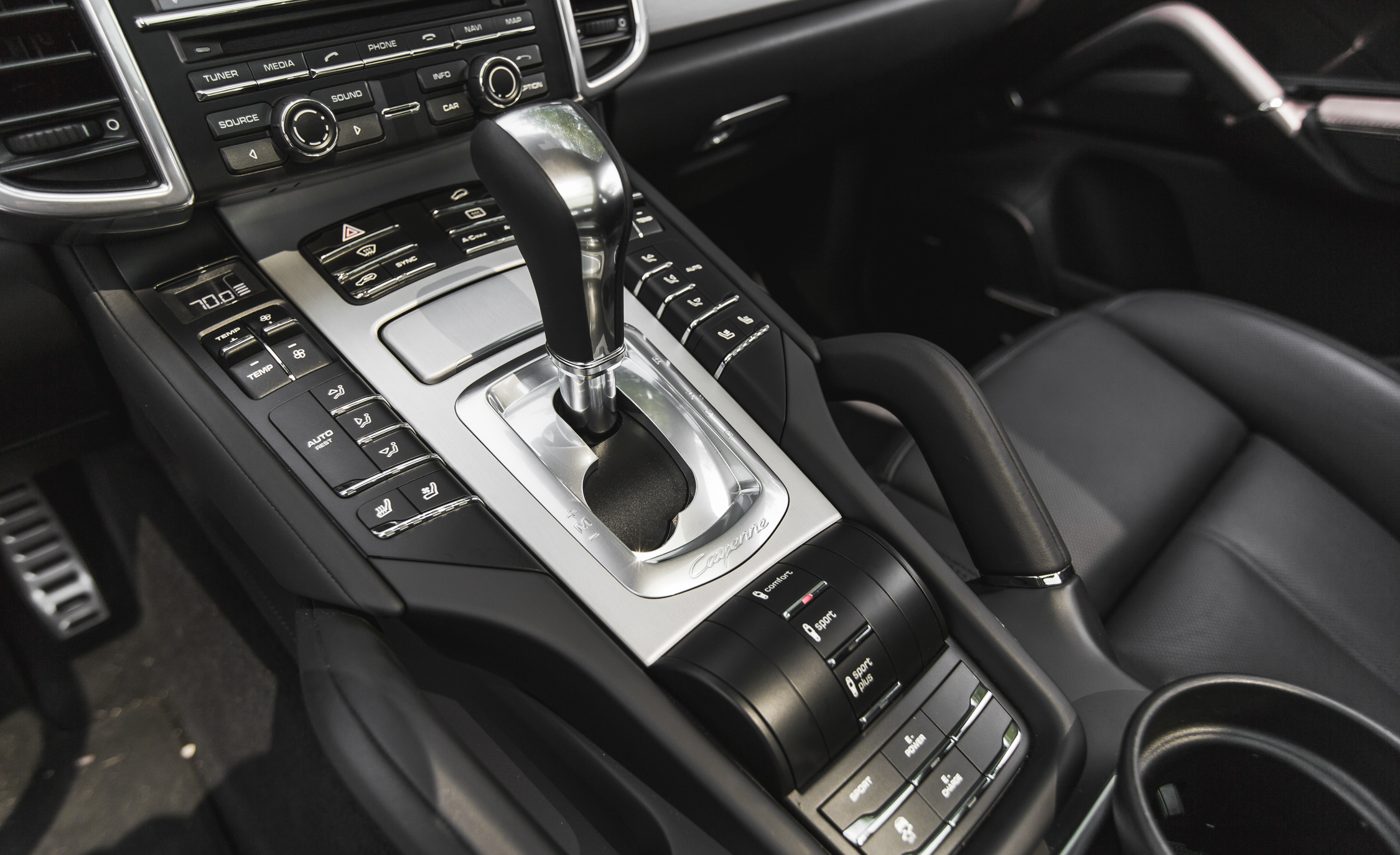 2015 Porsche Cayenne S E-Hybrid Interior Transmission