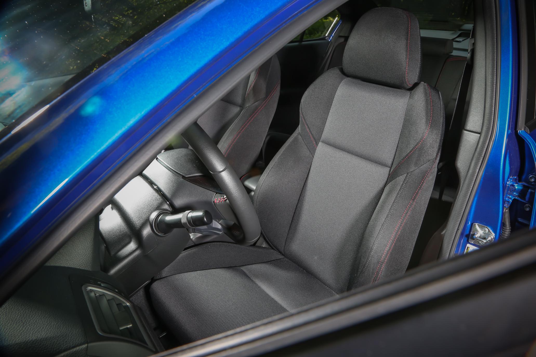 2015 Subaru WRX Front Seat Interior