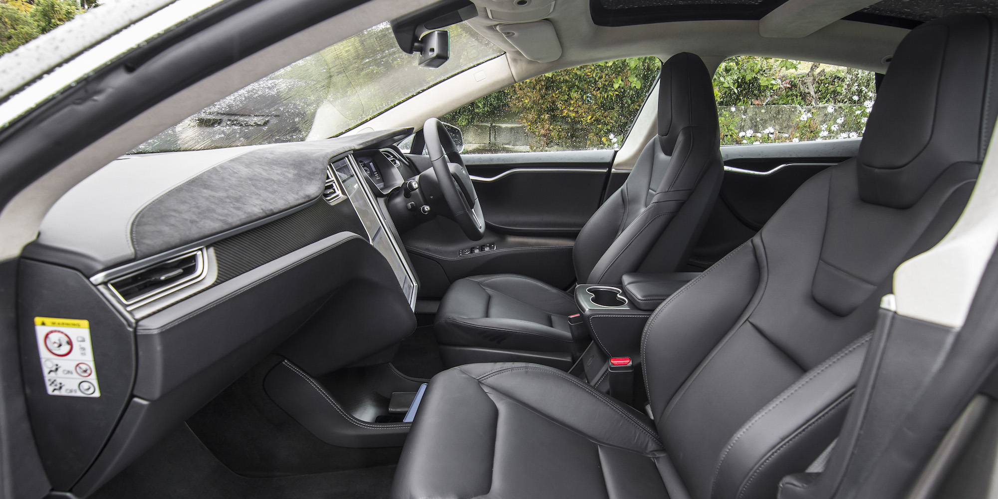 2015 Tesla Model S P85D Front Passenger Seat Interior