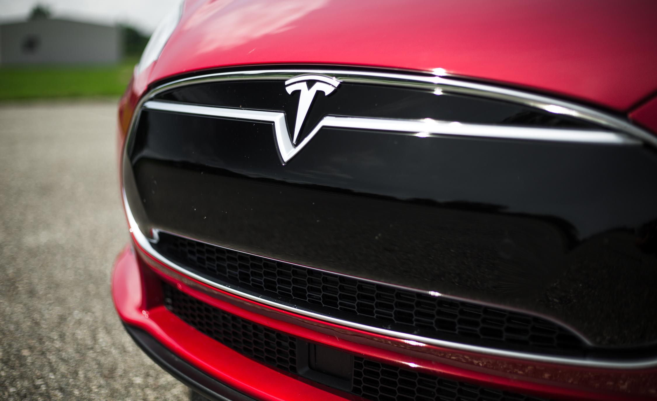 2015 Tesla Model S P85D Grille