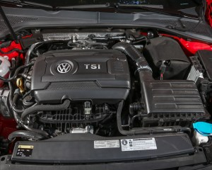 2015 Volkswagen GTI 5-Door Turbocharged 2.0-liter Inline-4 Engine