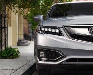 2016 Acura RDX Front End Headlamp View