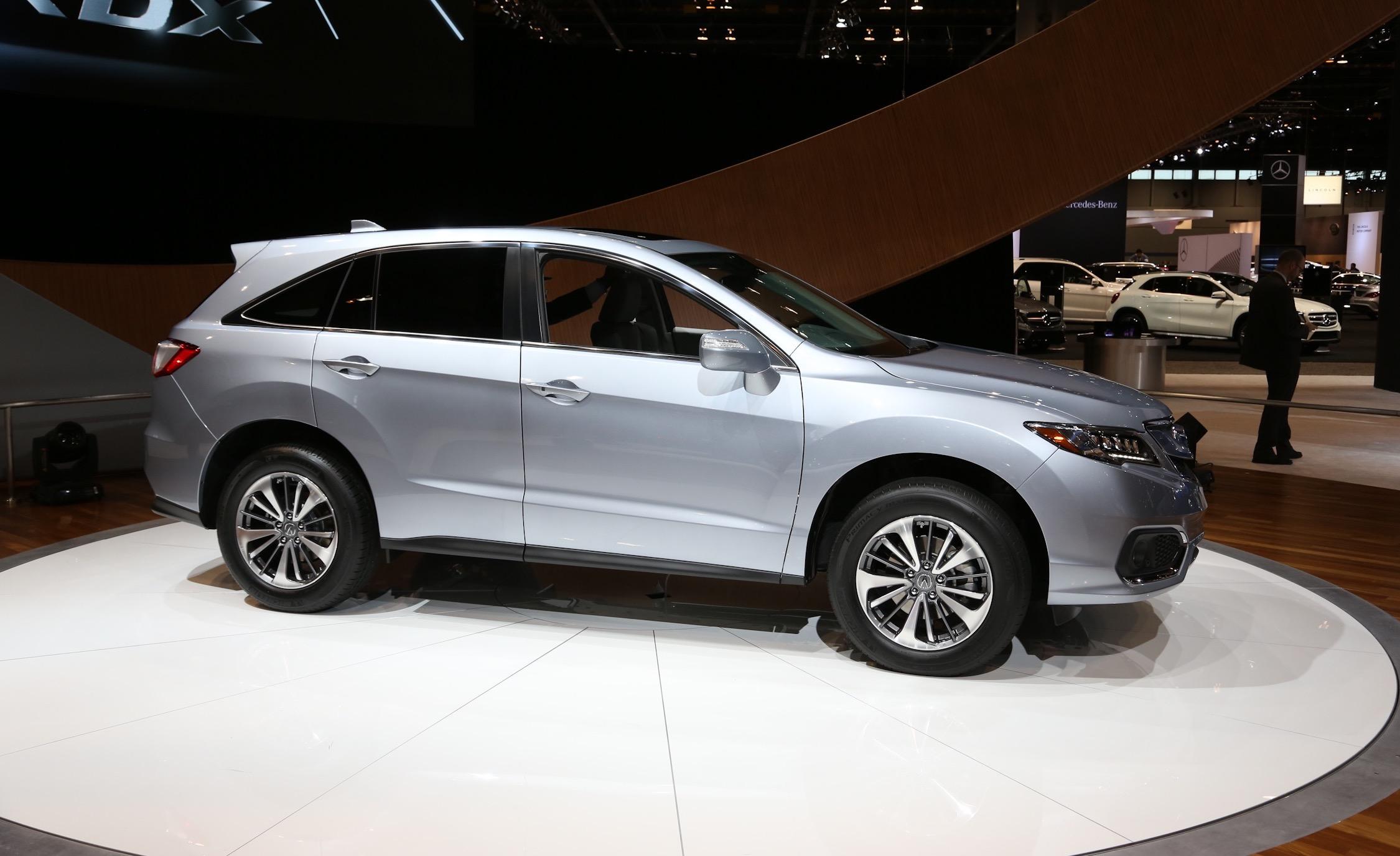 2016 Acura RDX Side Exterior