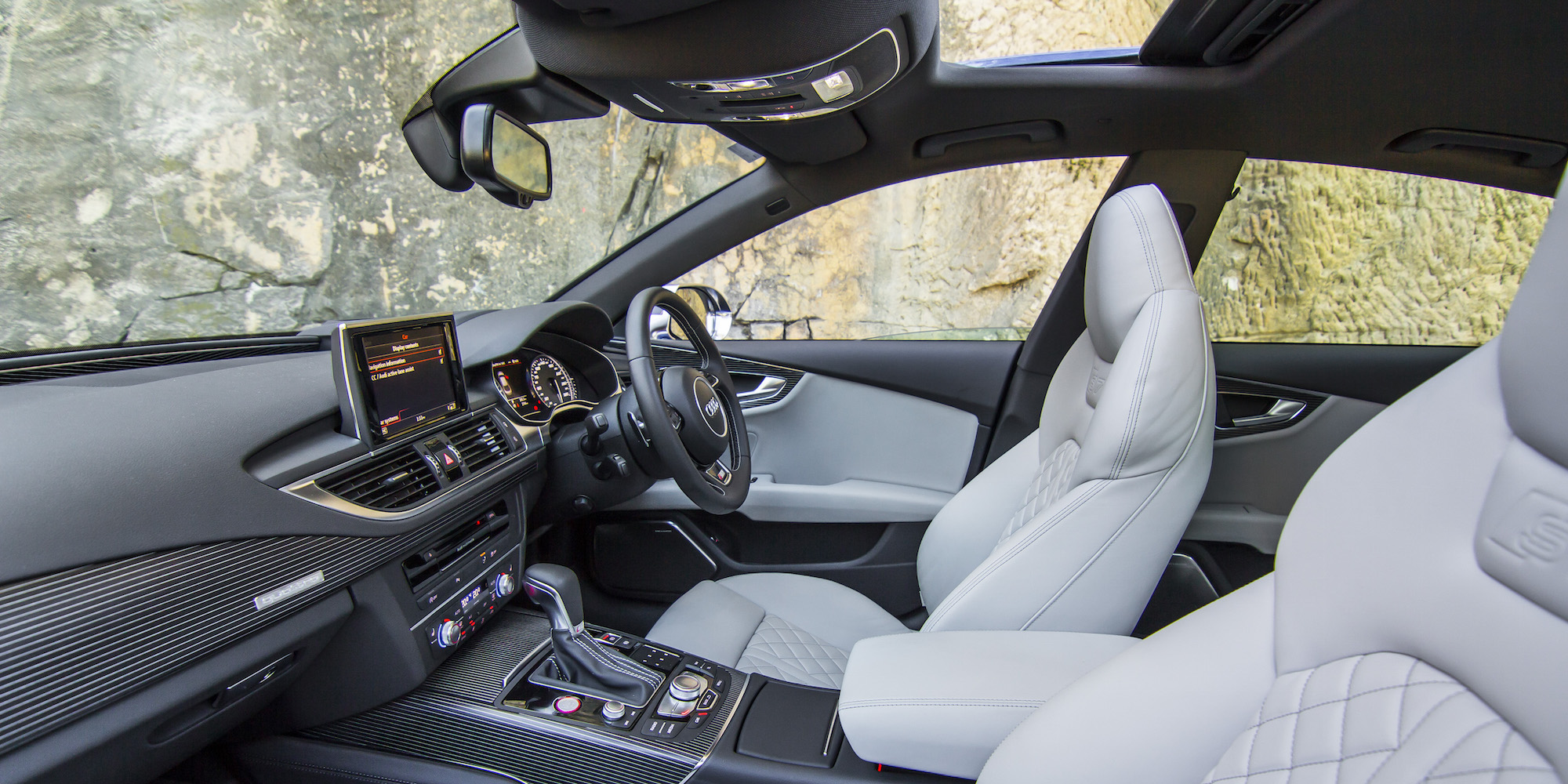 2016 Audi S7 Front Interior Seats