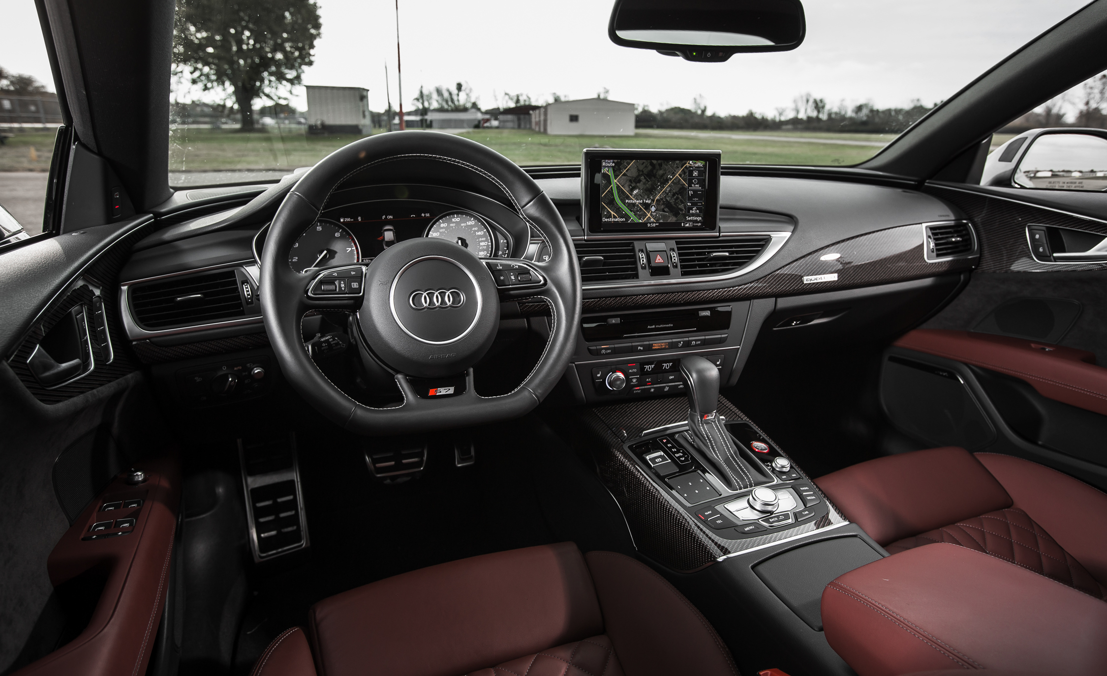 2016 Audi S7 Sedan Dashboard Interior
