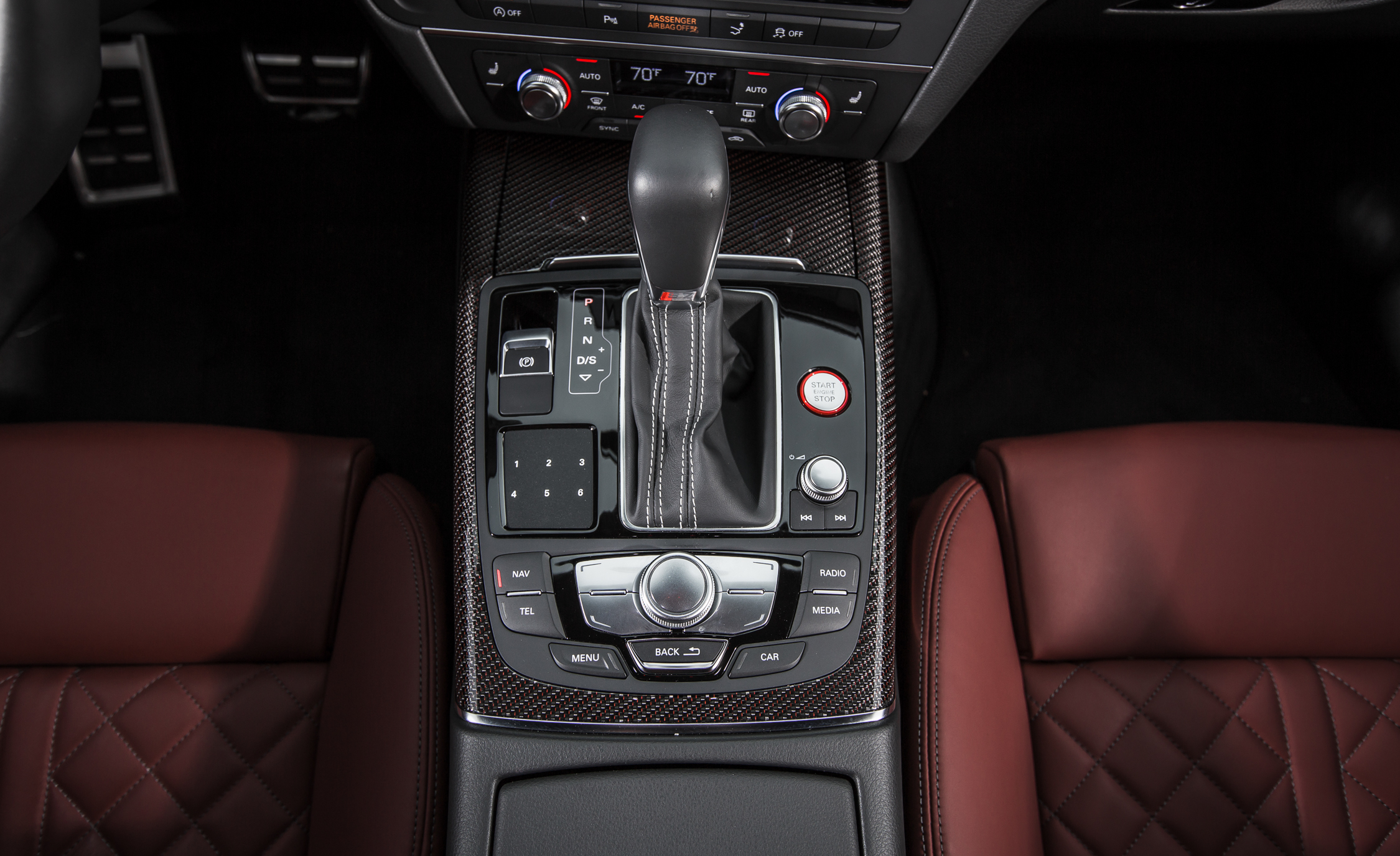 2016 Audi S7 Sedan Gear Shift Knob