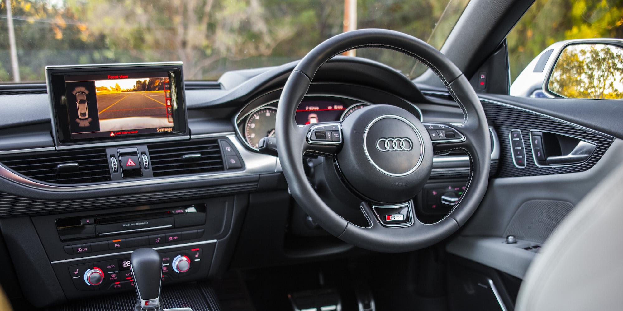 2016 Audi S7 Steering