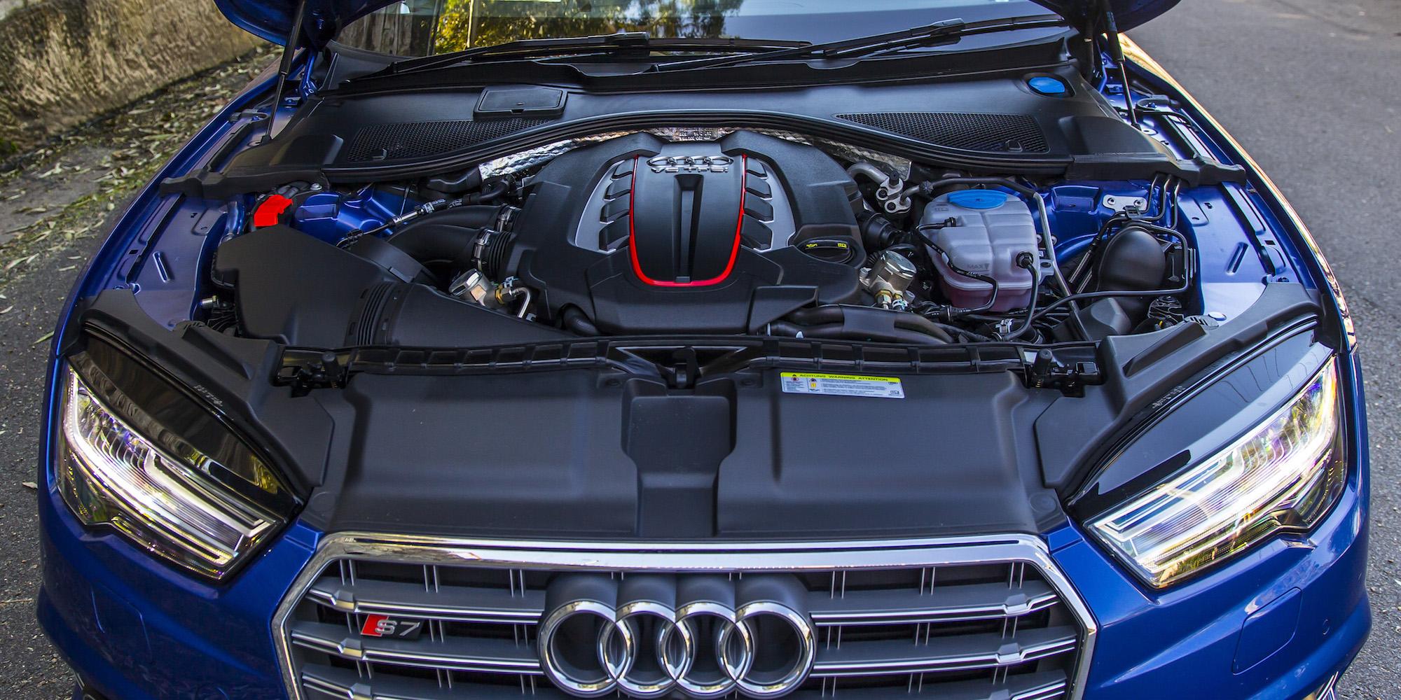 2016 Audi S7 Twin-Turbocharged V-8 Engine