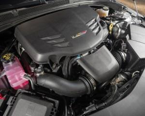 2016 Cadillac ATS-V Twin-Turbocharged 3.6-liter V-6 Engine