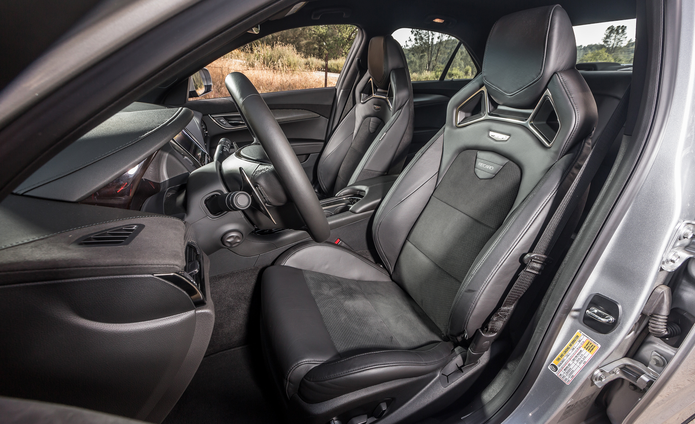 2016 Cadillac ATS-V Front Seats Interior
