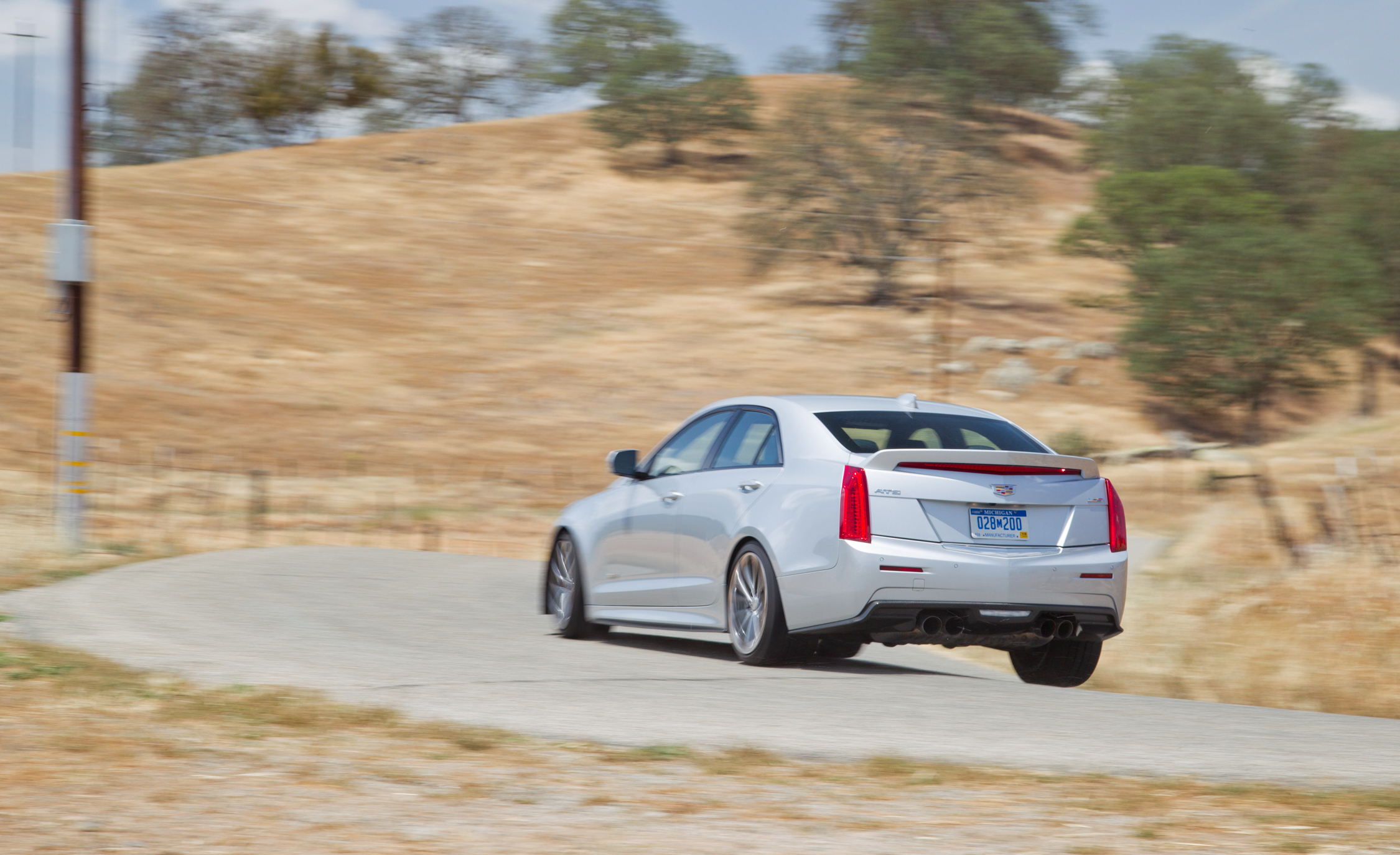 2016 Cadillac ATS-V Rear Side Design