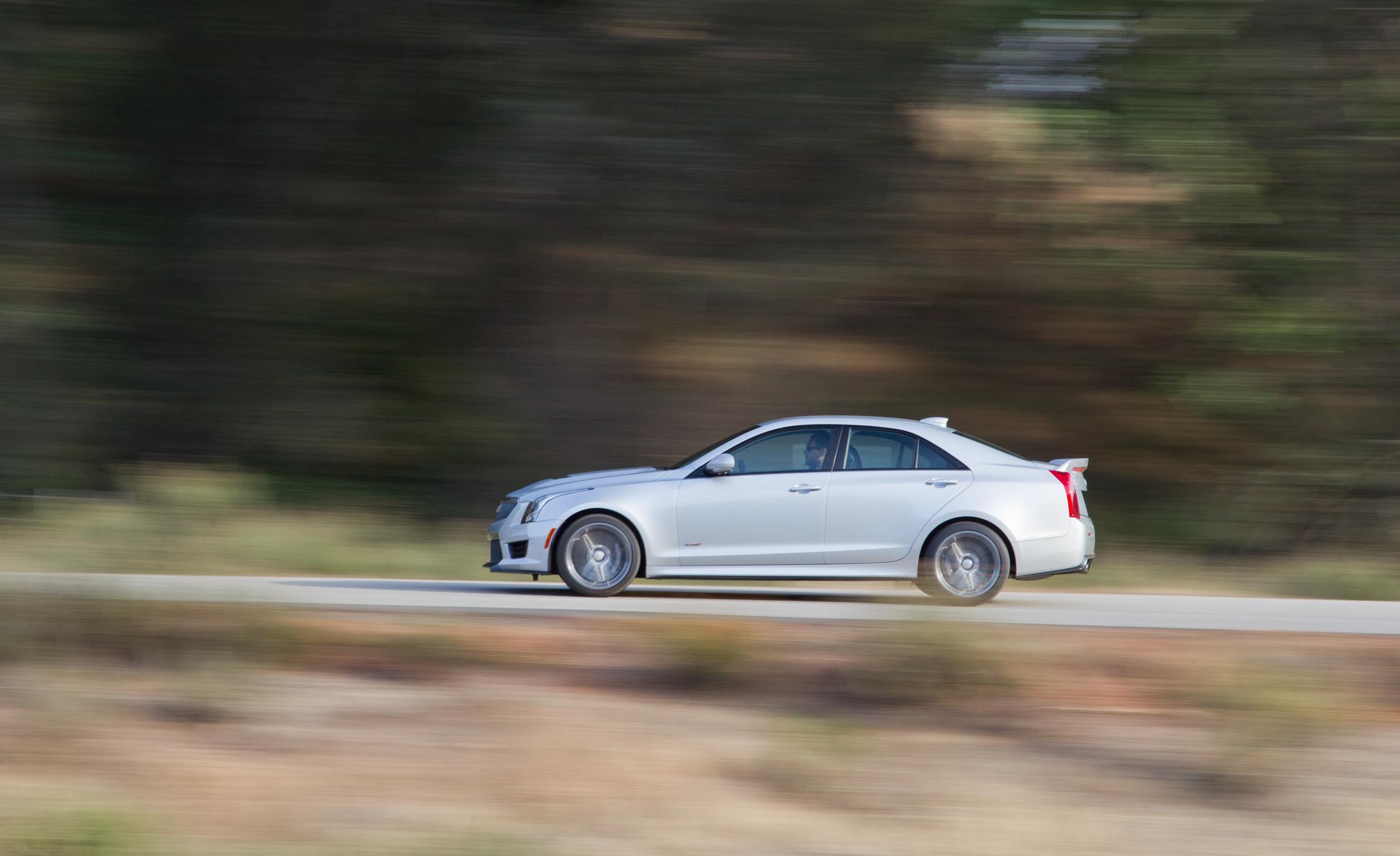 2016 Cadillac ATS-V Exterior in Motion