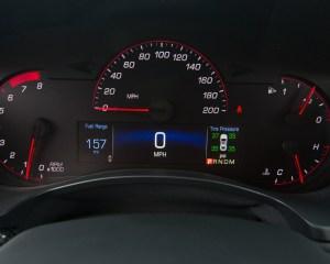 2016 Cadillac ATS-V Speedometer
