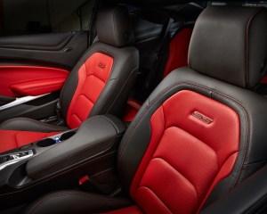 2016 Chevrolet Camaro SS Front Seats Interior