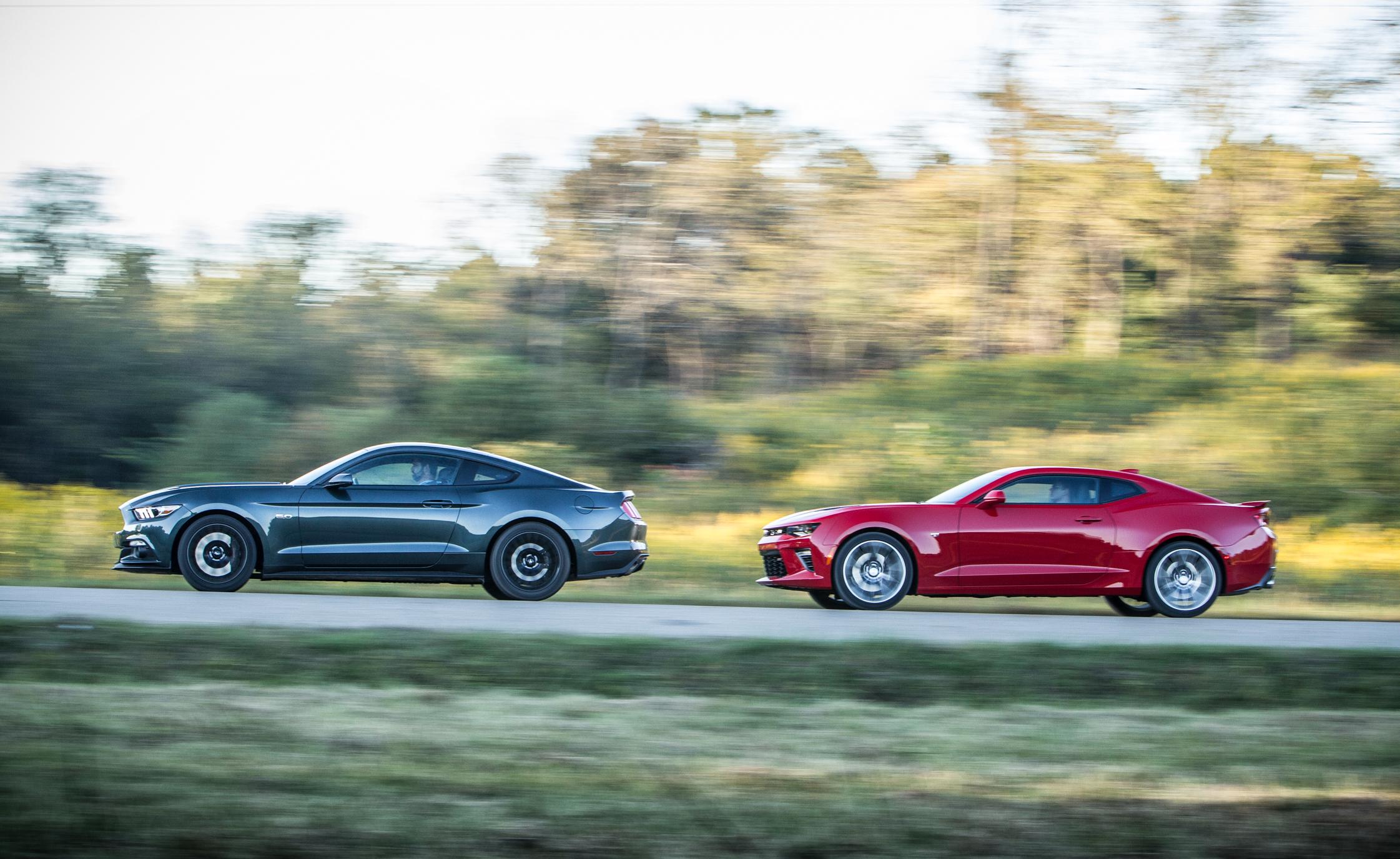2016 Chevrolet Camaro Ss Vs 2015 Ford Mustang Gt Comparison 6270