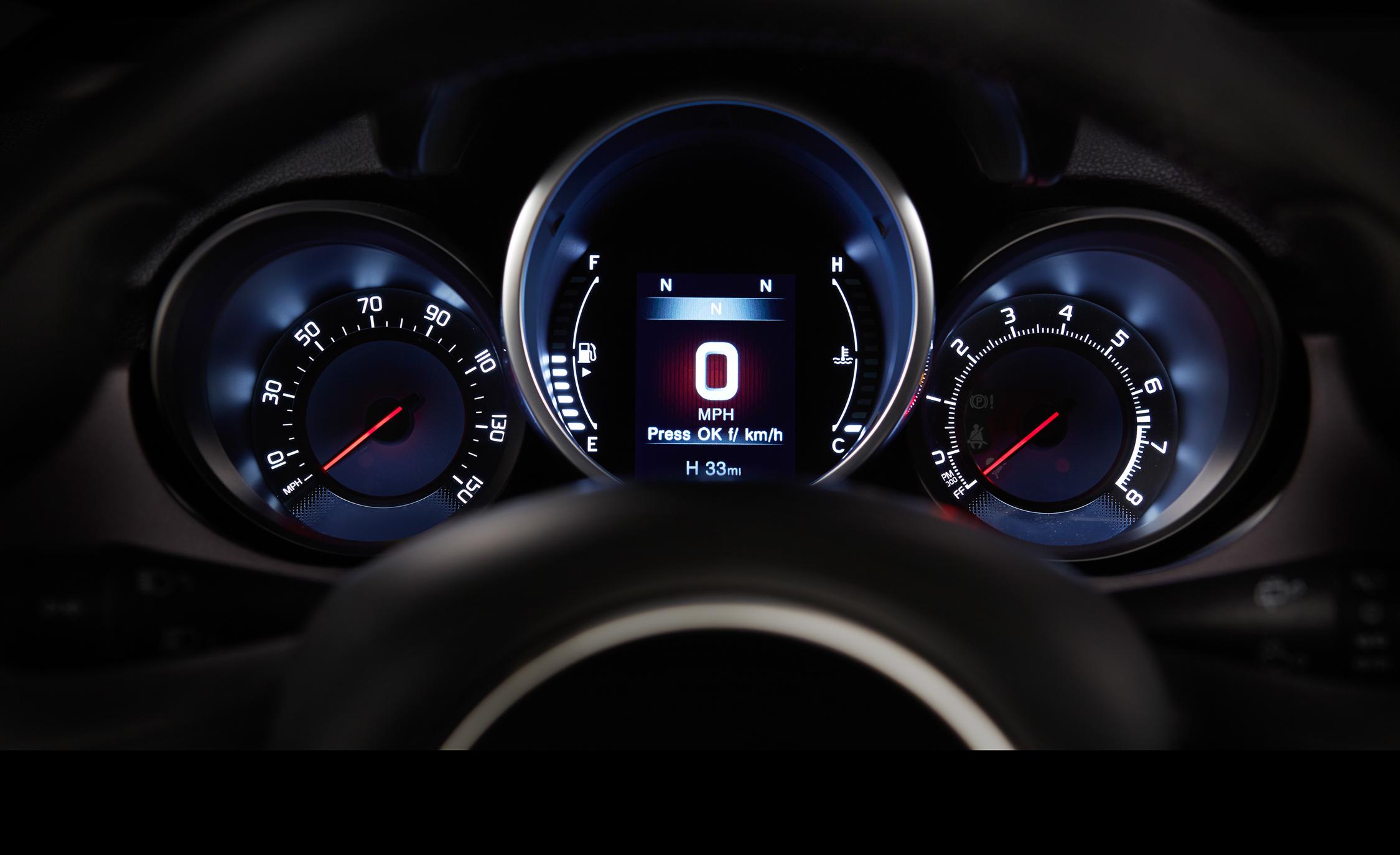 2016 Fiat 500X Lounge Interior Speedometer