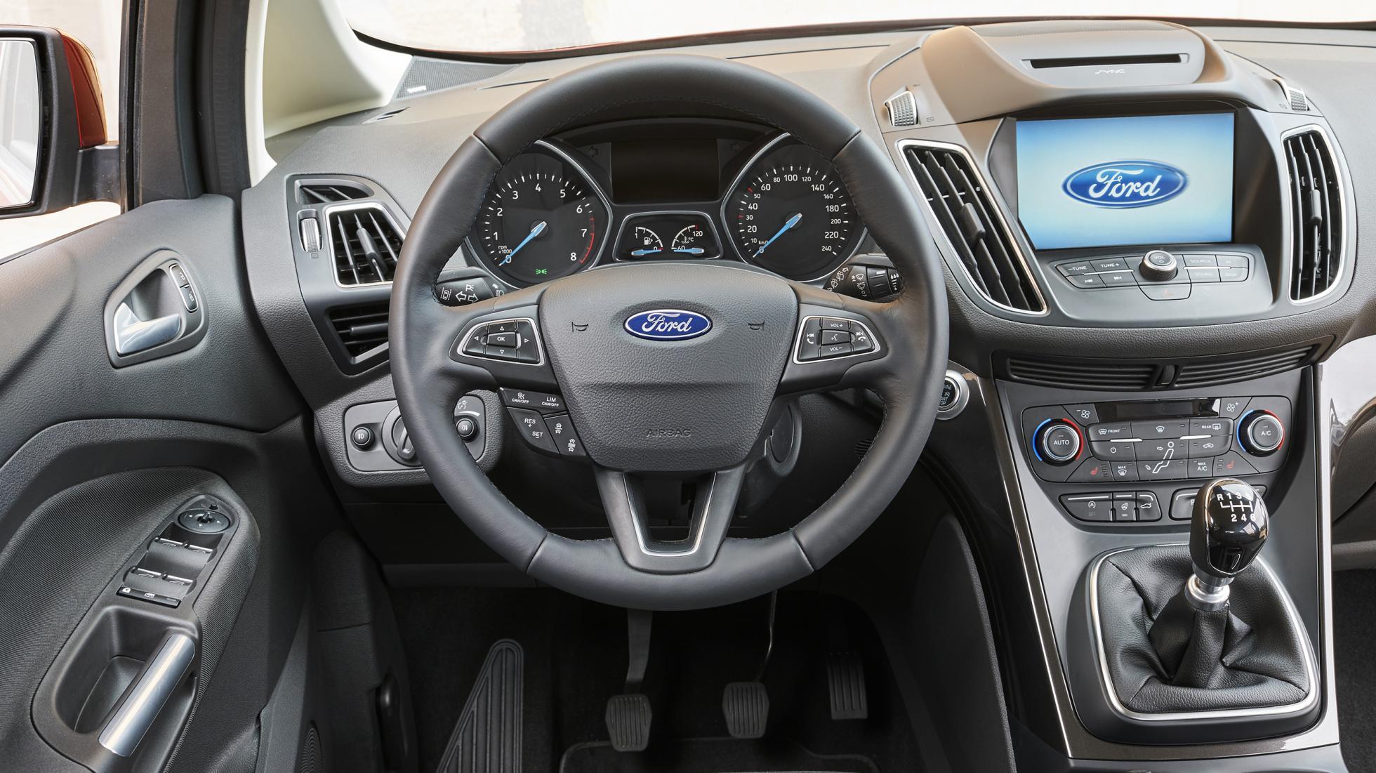 2016 Ford C-Max Energi Interior Cockpit
