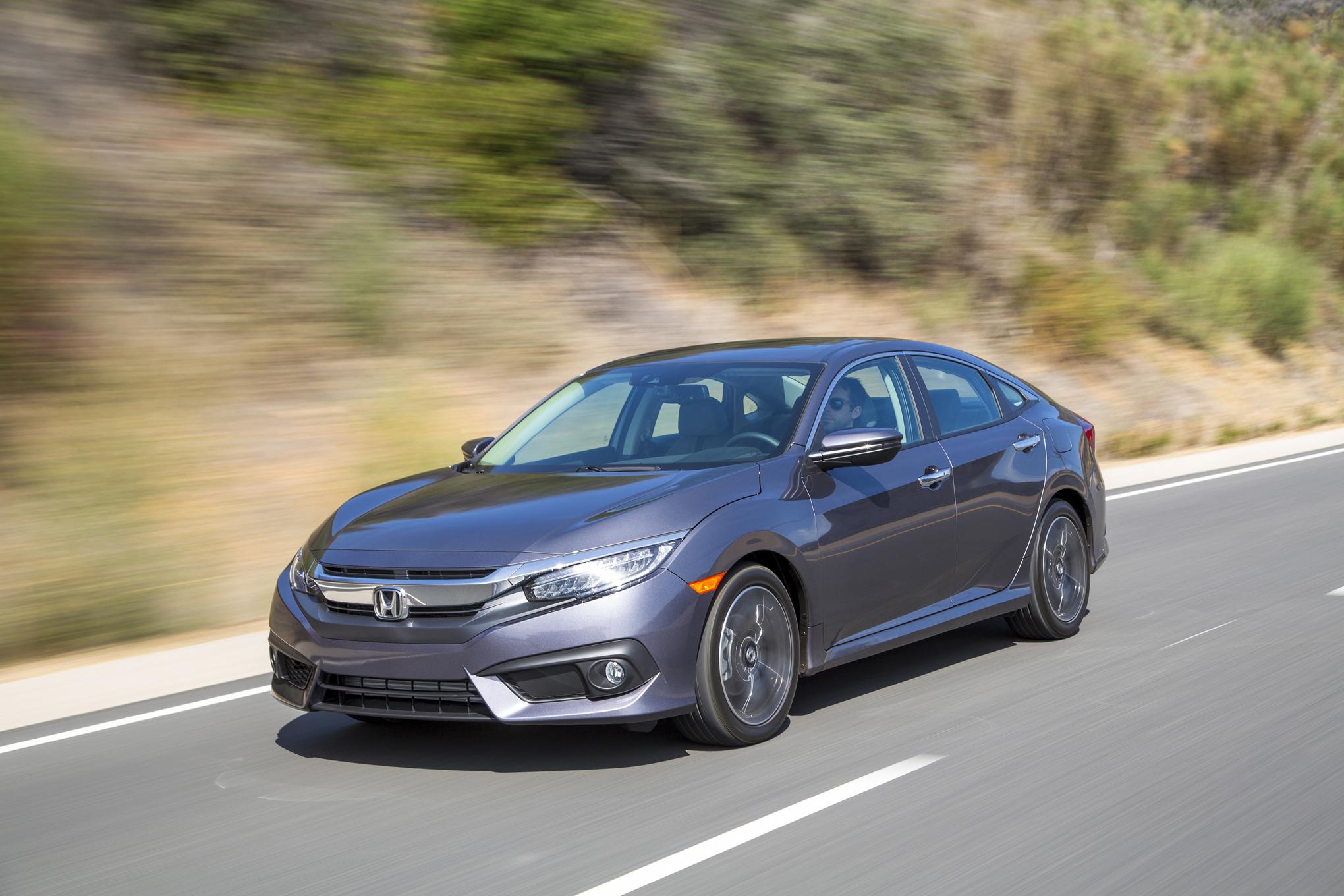 2016 Honda Civic Touring Sedan Grey