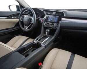 2016 Honda Civic Touring Sedan Interior Dashboard