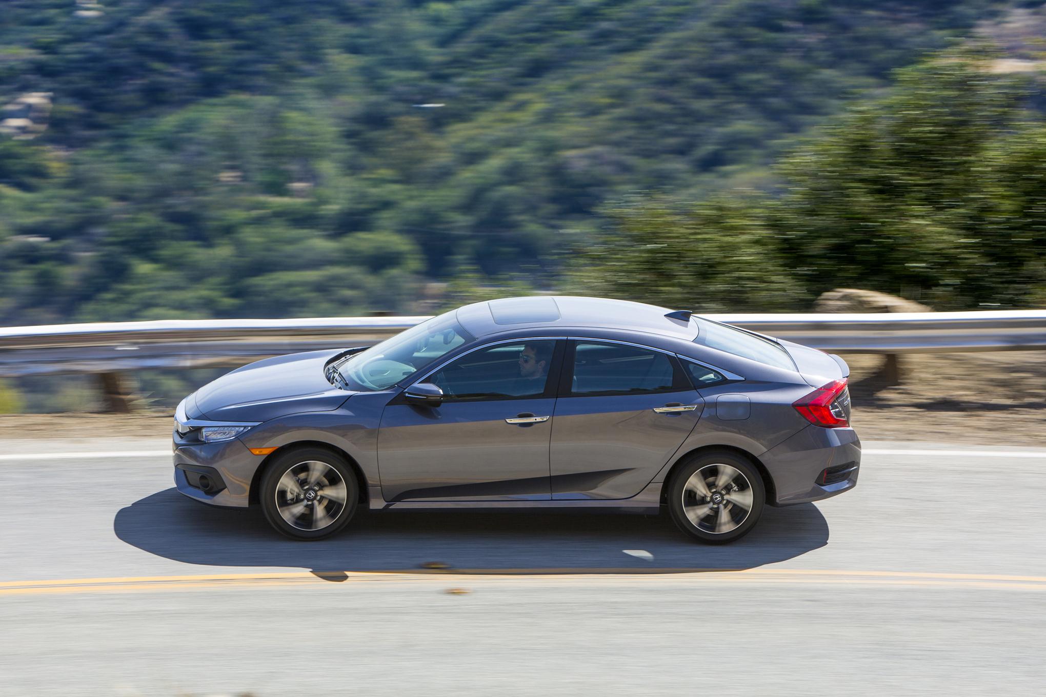 2016 Honda Civic Touring Sedan Performance Test