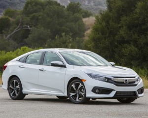 2016 Honda Civic Touring White