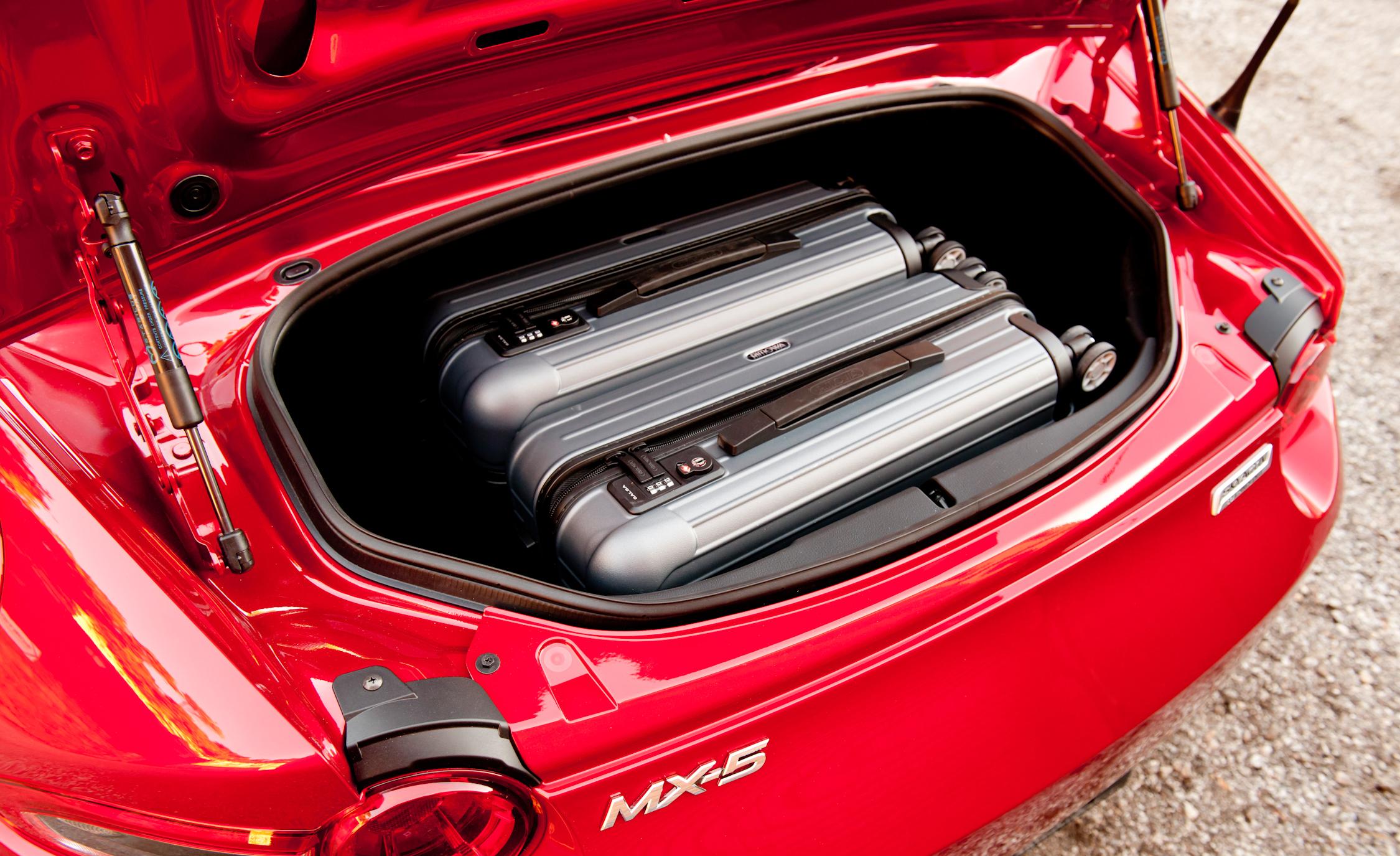2016 Mazda MX-5 Miata Trunk Capacity