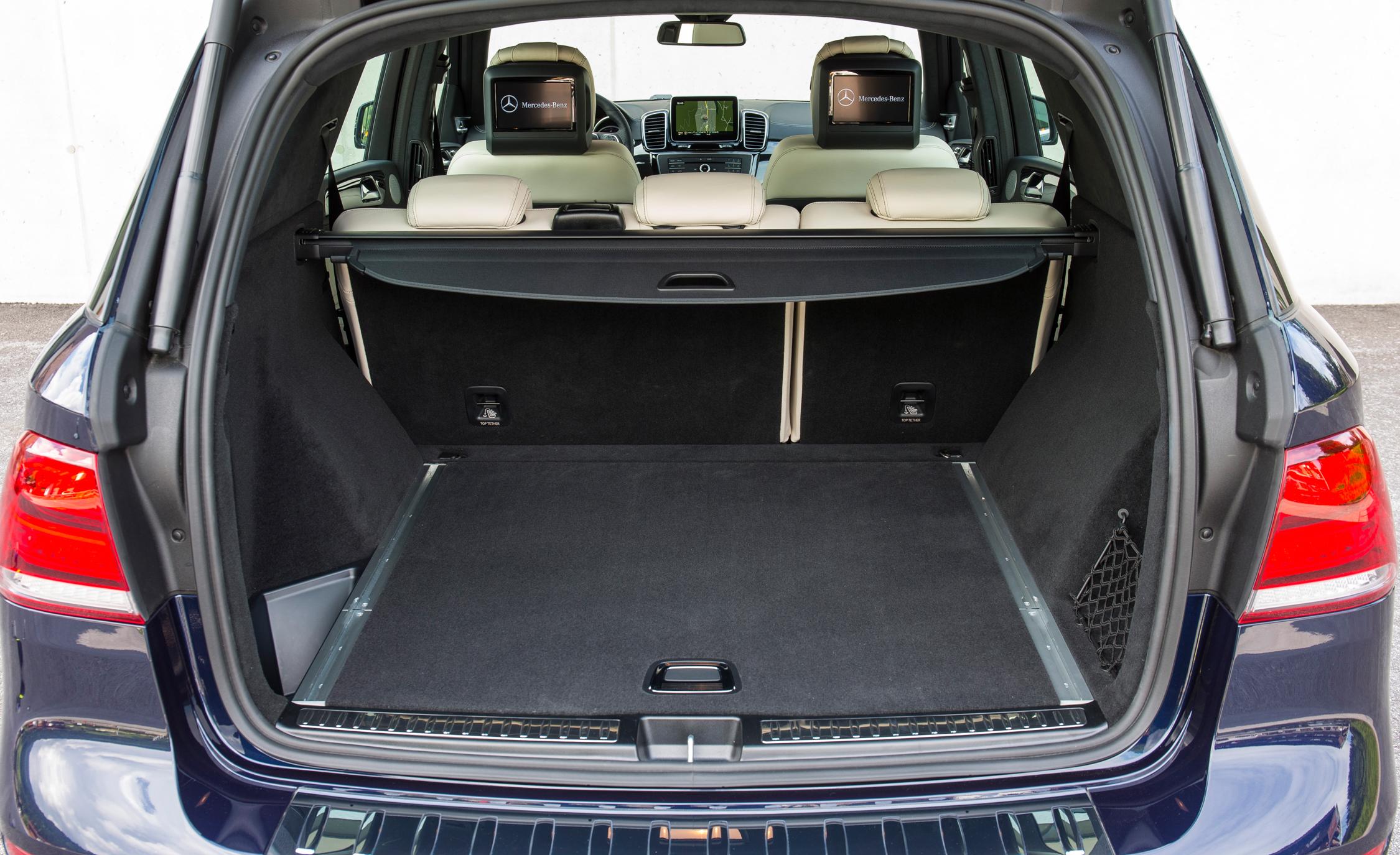 2016 Mercedes-Benz GLE250d 4MATIC Interior Trunk