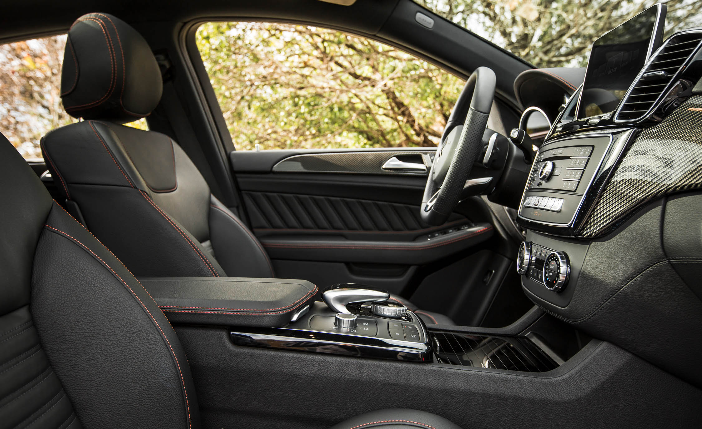 2016 Mercedes-Benz GLE450 AMG Coupe Interior Cockpit Seat
