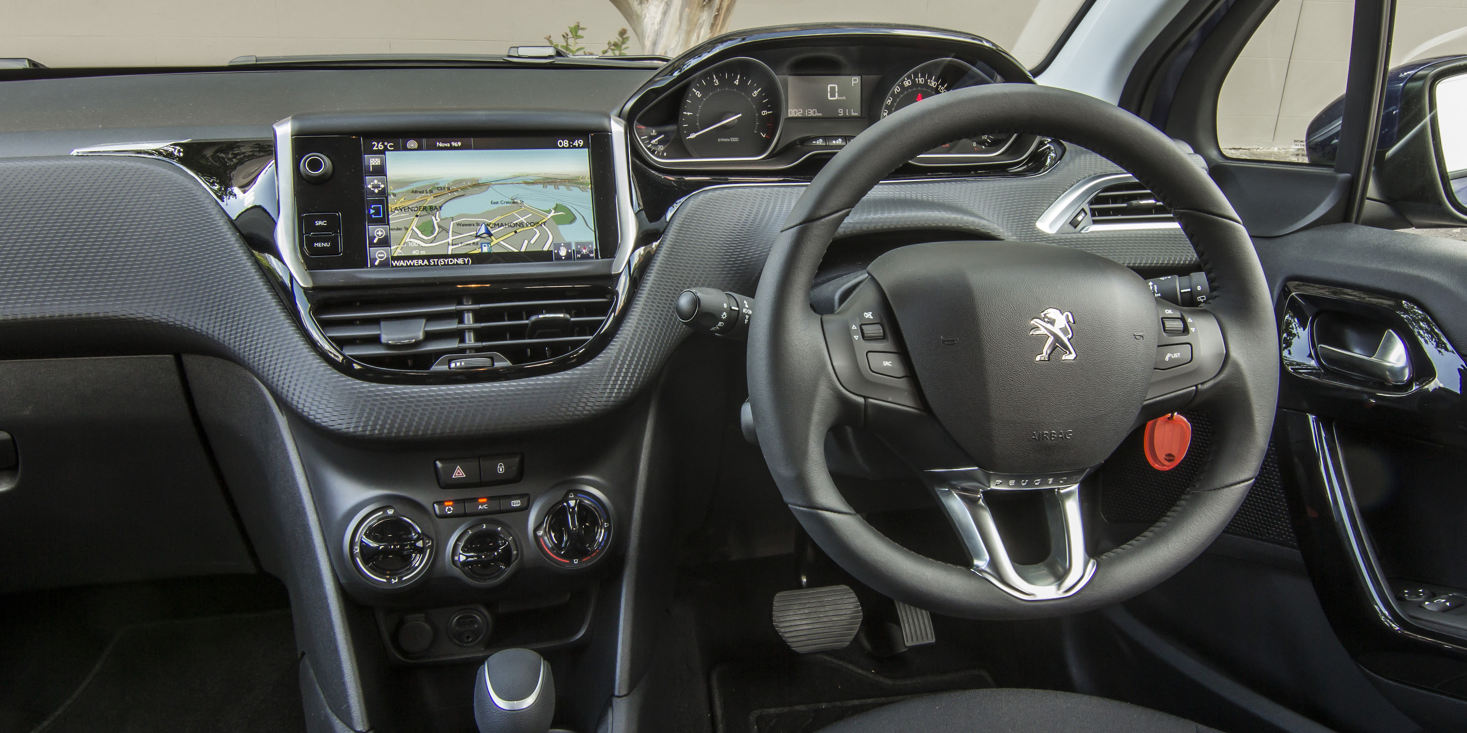 2016 Peugeot 208 Active Cockpit Interior