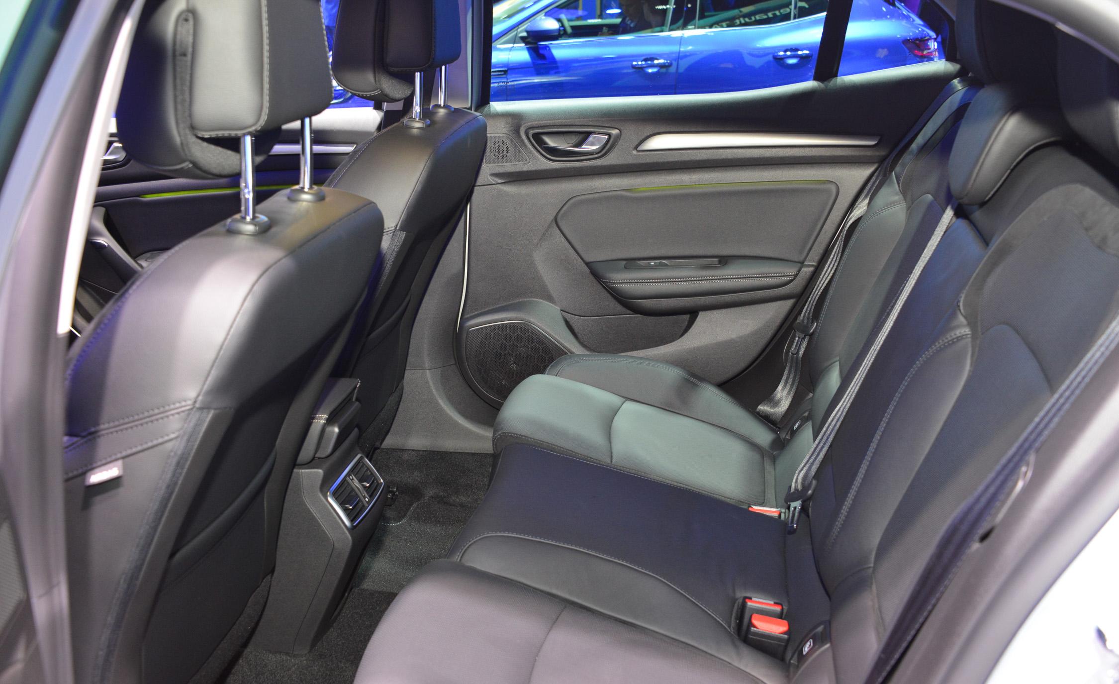 2016 Renault Megane Rear Seats Interior