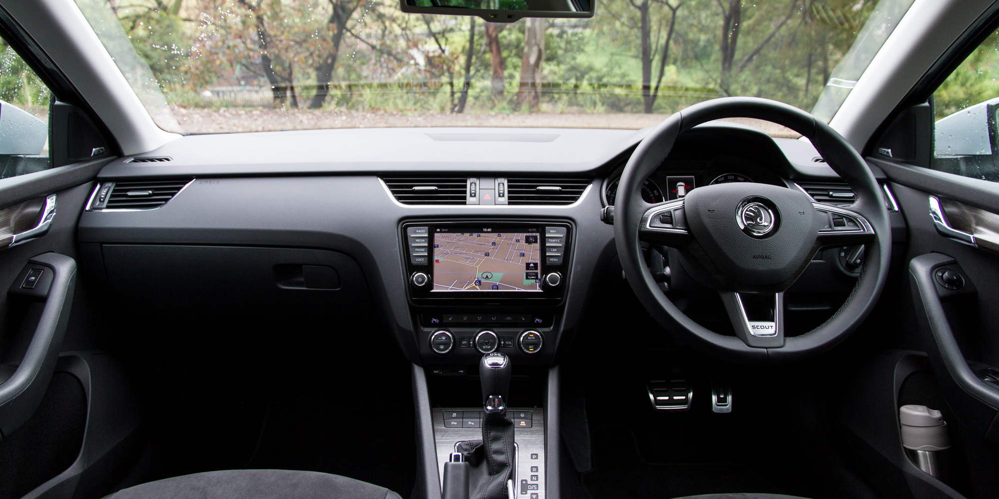 2016 Skoda Octavia Scout Interior Dashboard