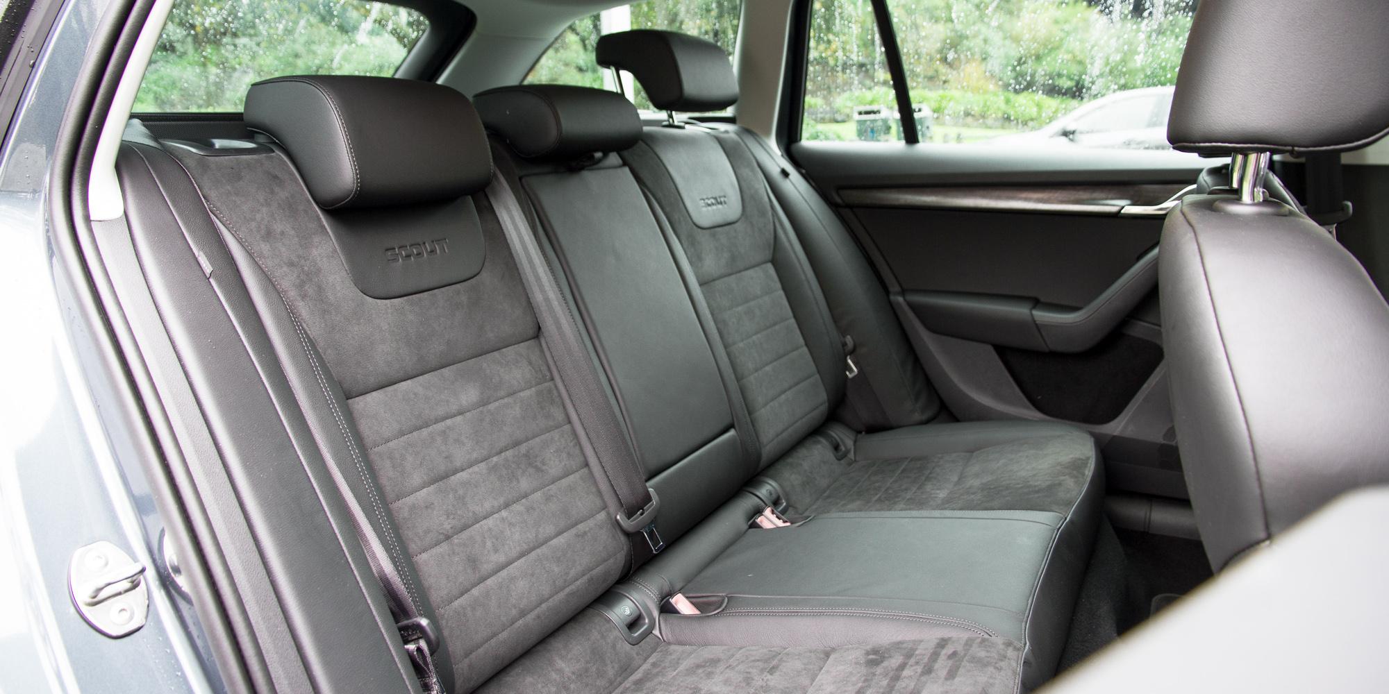 2016 Skoda Octavia Scout Interior Rear Seats