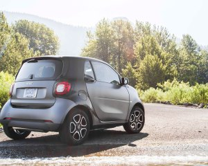 2016 Smart Fortwo Rear Exterior Preview