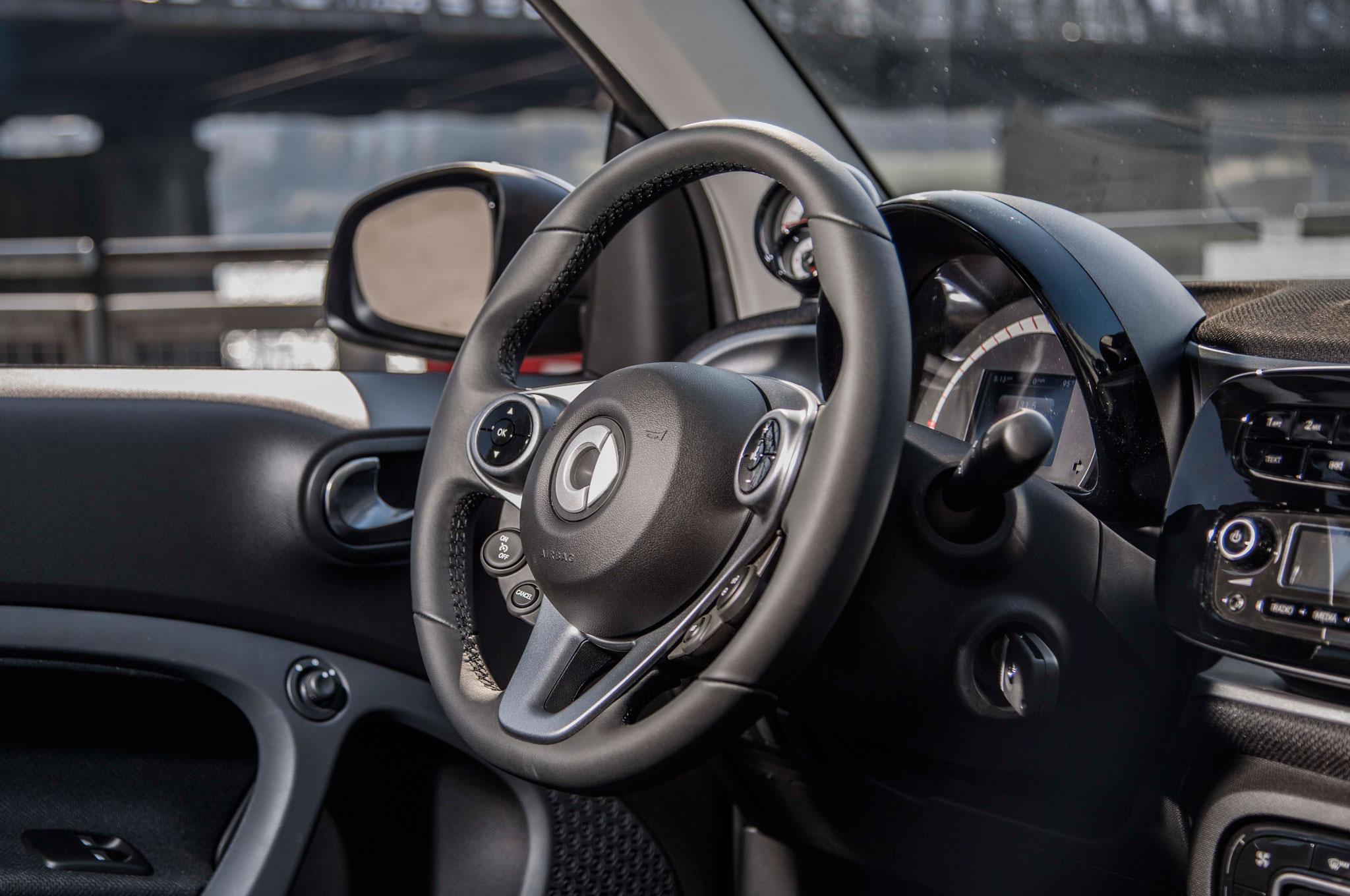 2016 Smart Fortwo Steering Wheel