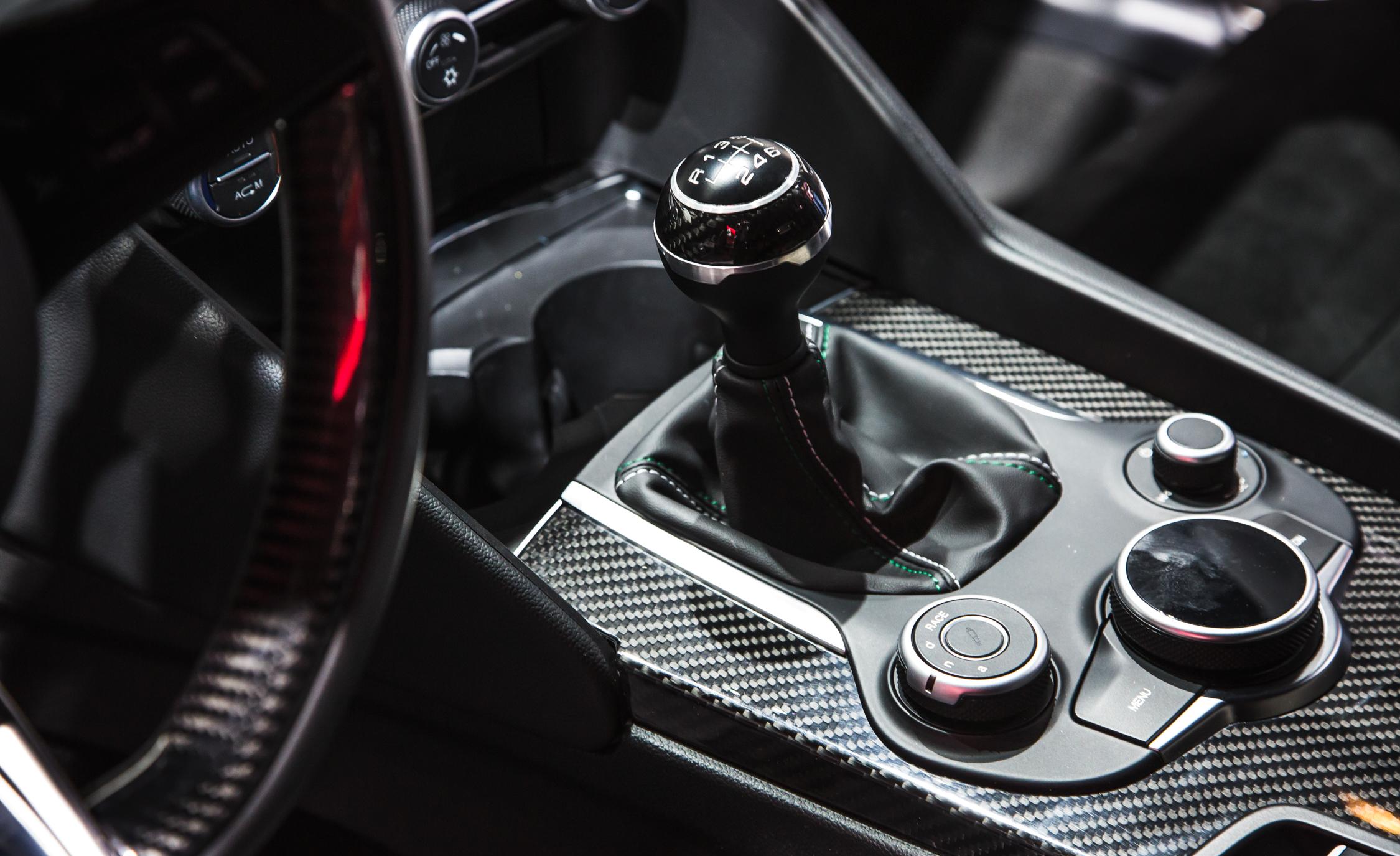 2017 Alfa Romeo Giulia Quadrifoglio Gear Shift Knob