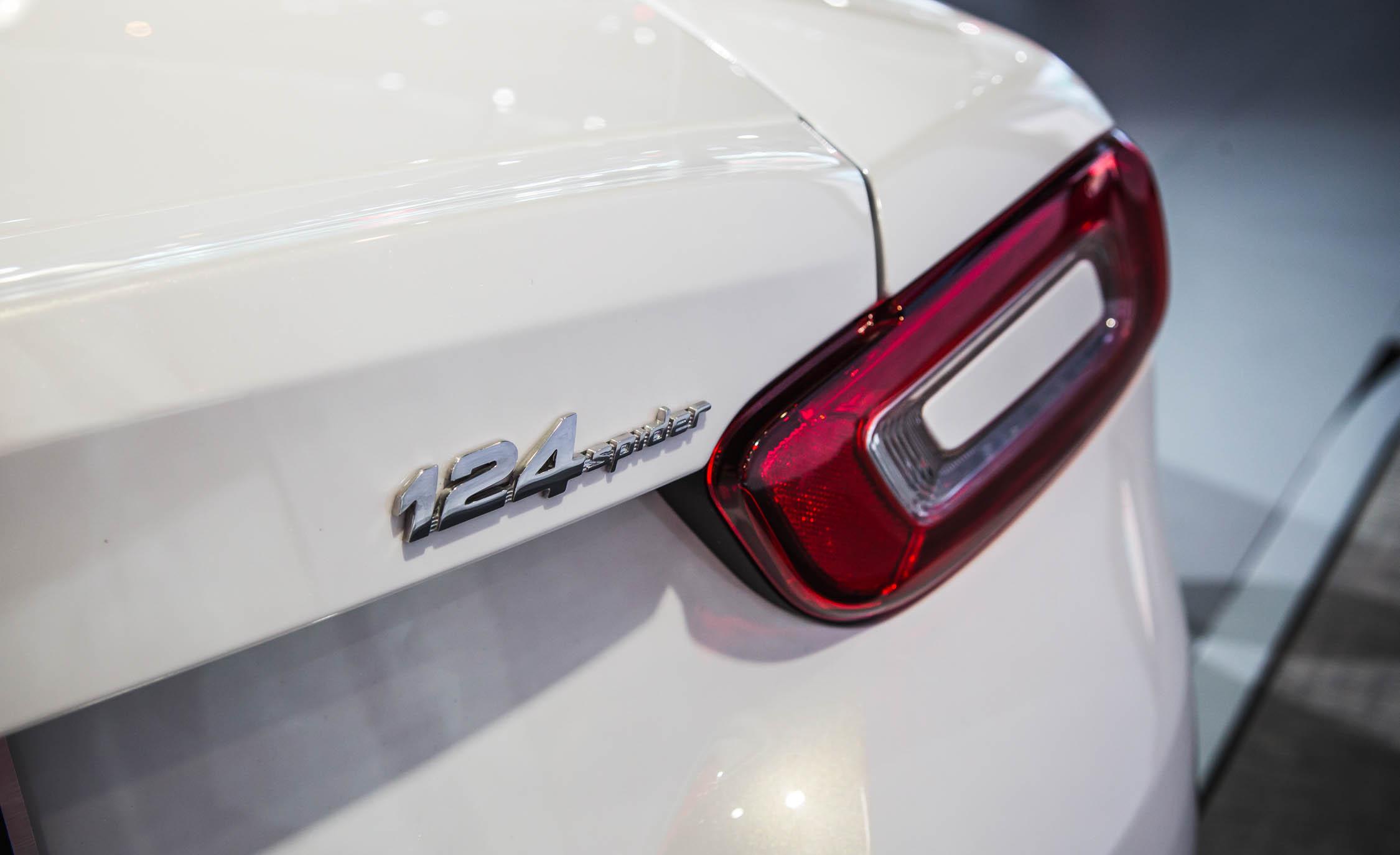 2017 Fiat 124 Spider Rear Emblem