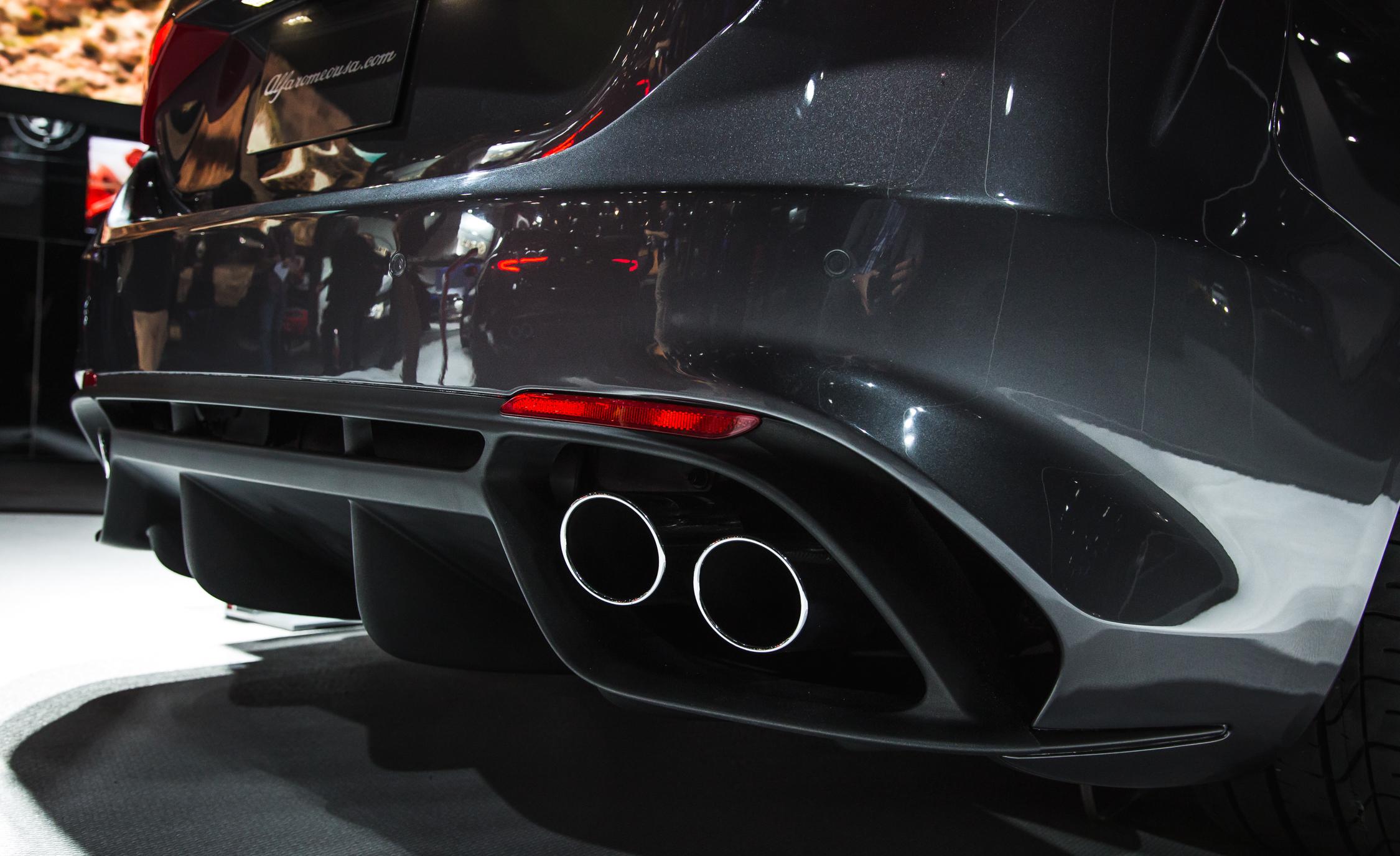 Exhaust Pipe 2017 Alfa Romeo Giulia Quadrifoglio