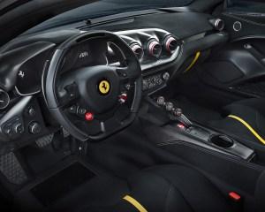 Ferrari F12tdf 2016 Interior Preview