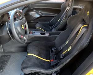 Ferrari F12tdf 2016 Interior Seats