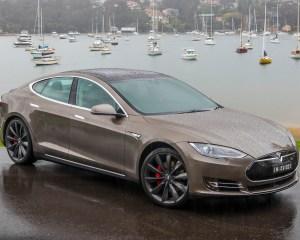 First Look Tesla Model S P85D 2015