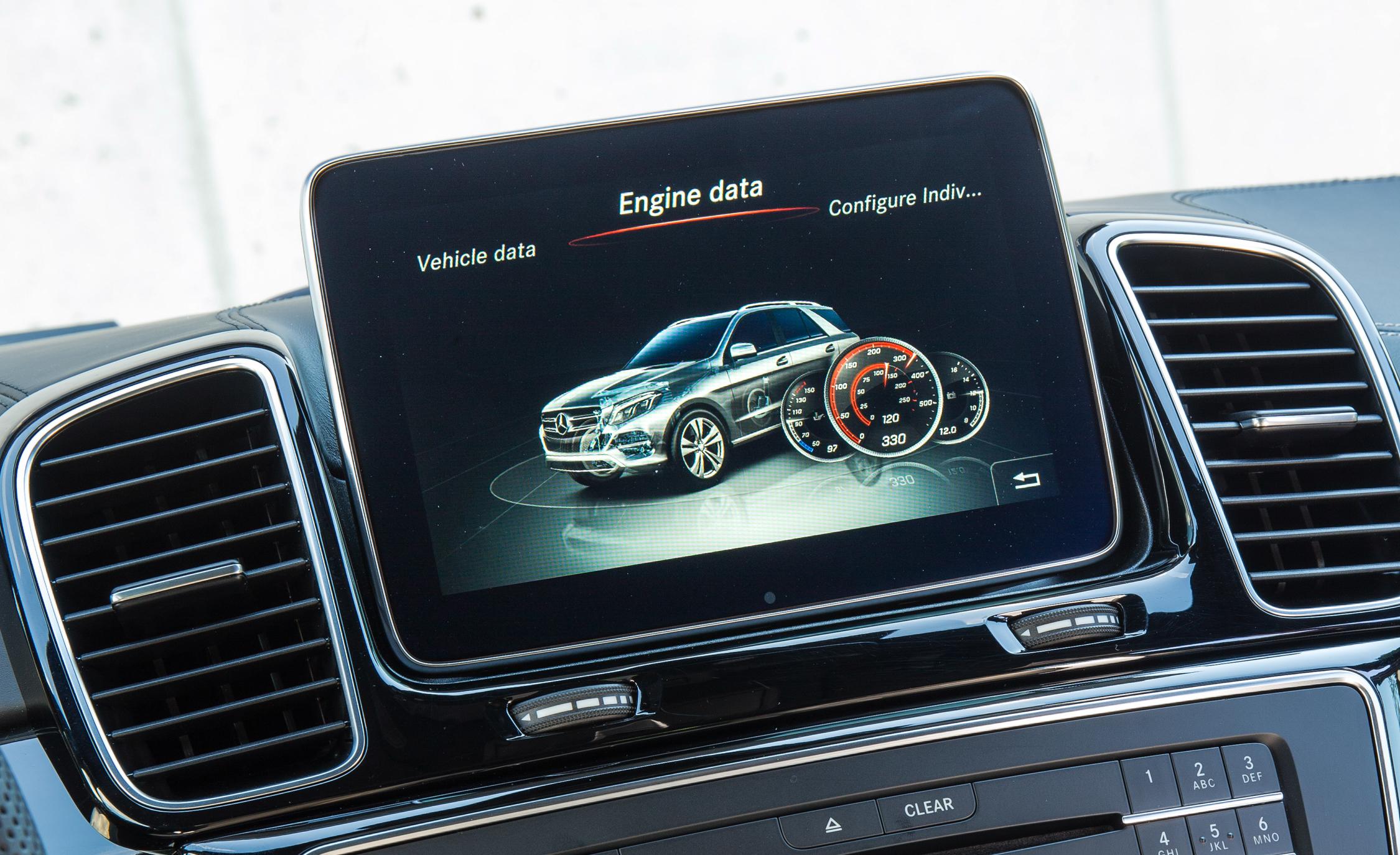 Head Unit 2016 Mercedes-Benz GLE250d 4MATIC