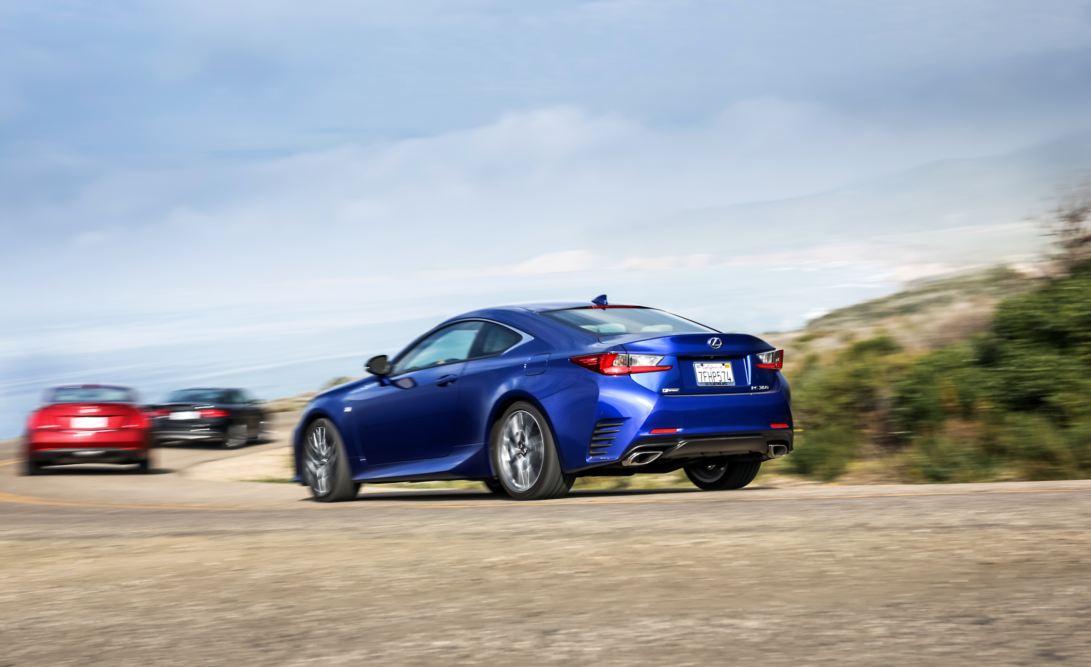Lexus RC350 F Sport Rear Side Exterior