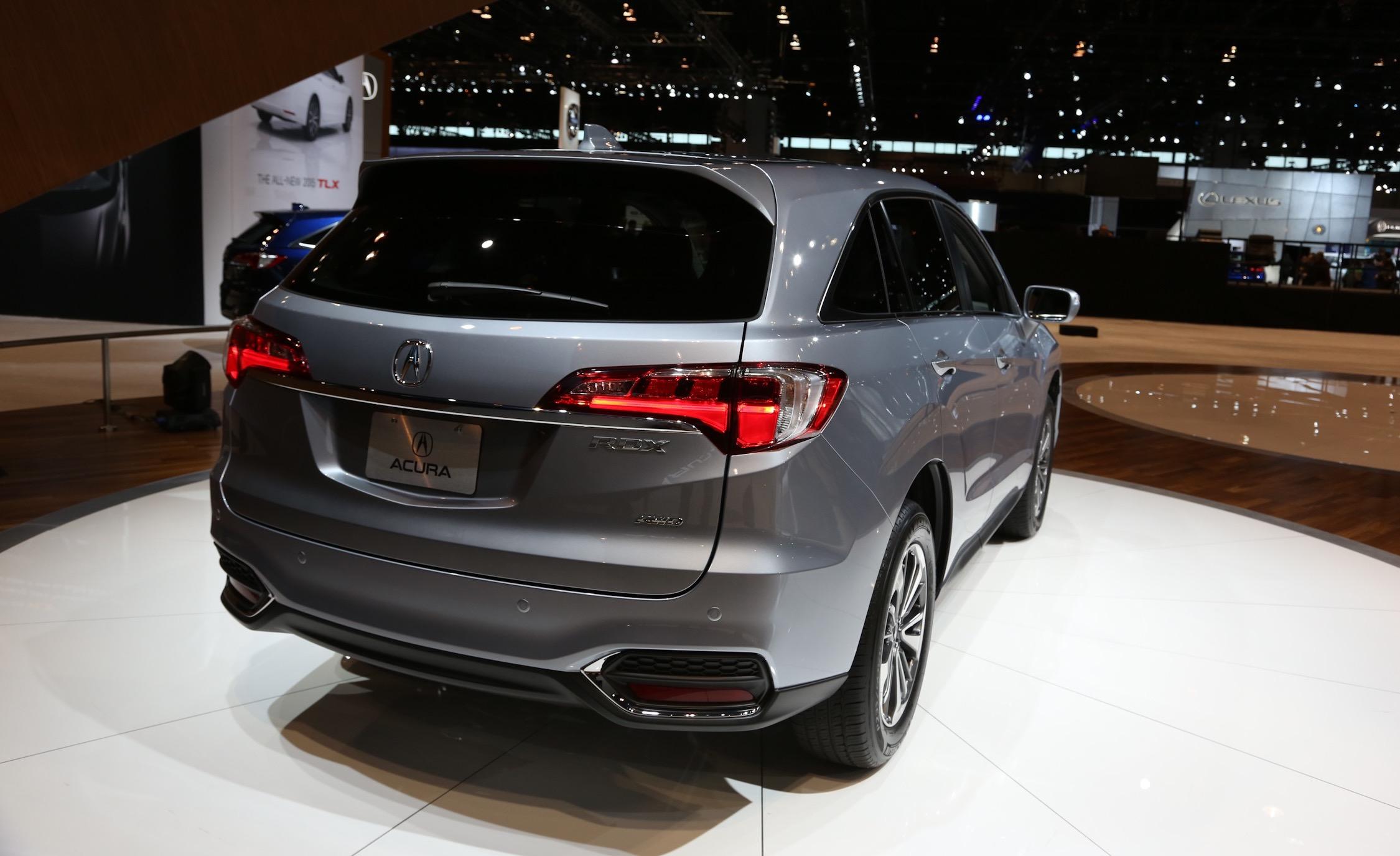 New 2016 Acura RDX Rear Side Design