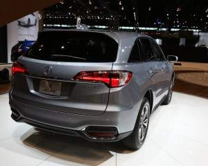 New 2016 Acura RDX Rear Side Design