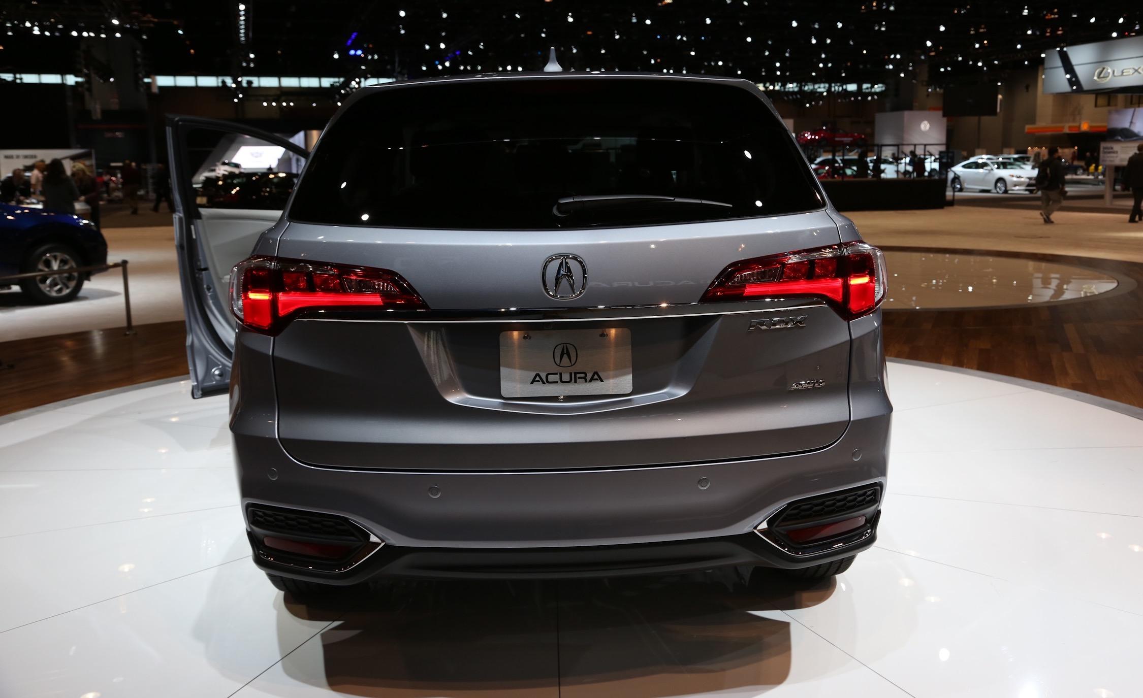 Next 2016 Acura RDX Rear End Design
